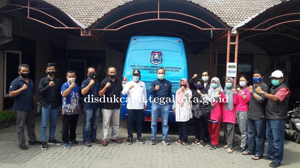 Dirjen Dukcapil monitoring layanan online Jakwir Cetem ke Disdukcapil Kota Tegal