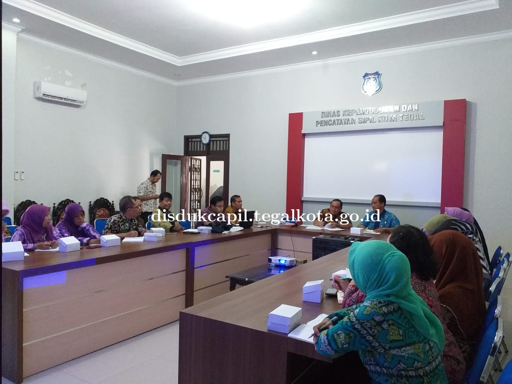 Rapat Koordinasi Peningkatan Pelayanan Identitas Kependudukan Anak