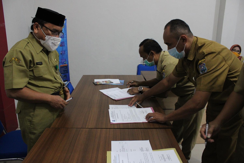 Penandatanganan Pakta Integritas - Perjanjian Kinerja - (Ada 0 foto)